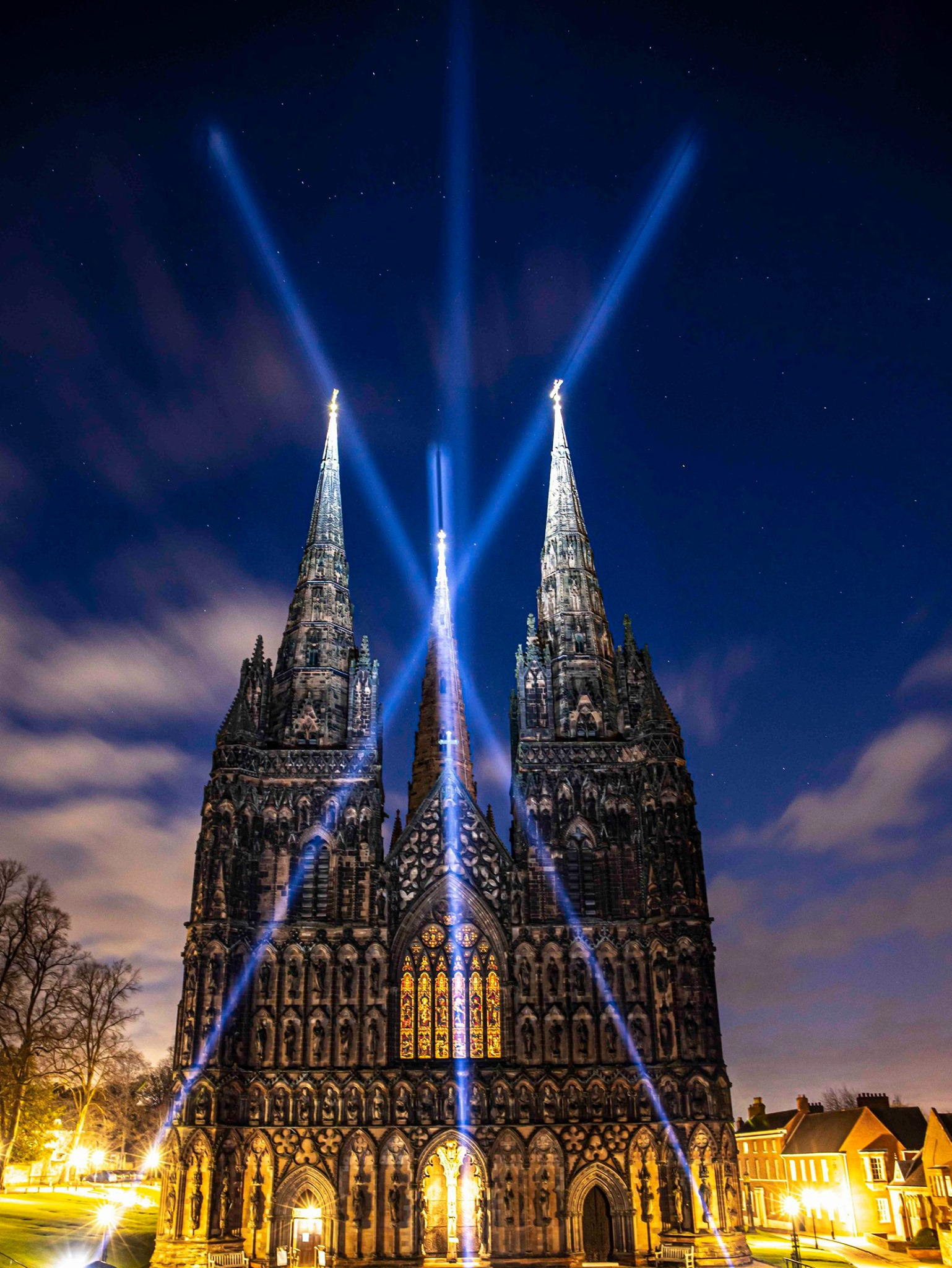 Light of Hope at Lichfield Cathedral by Peter Walker Sculptor